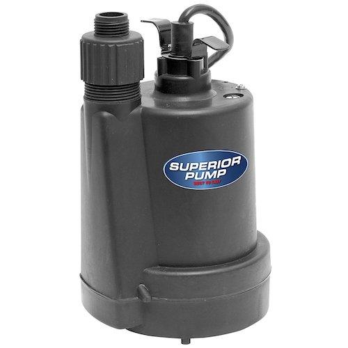 Superior Pump 91250 Utility Pump