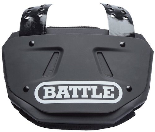 Battle Sports Football Back Plate