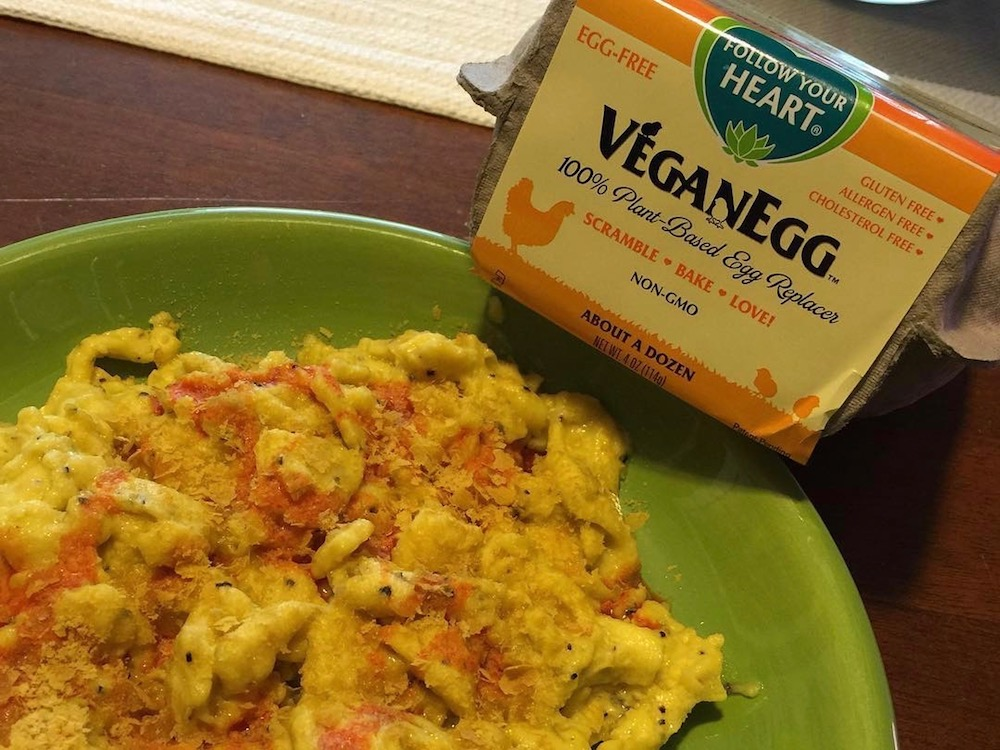 vegan eggs