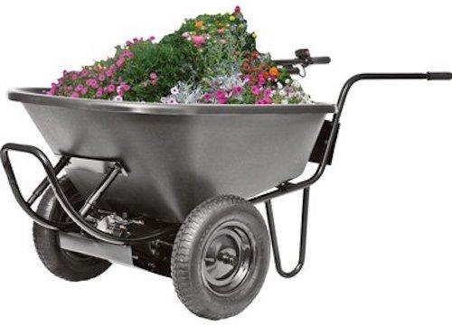 Decko 24 Volt Power Assist Wheelbarrow