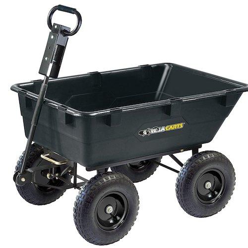 Gorilla Carts Dump Cart