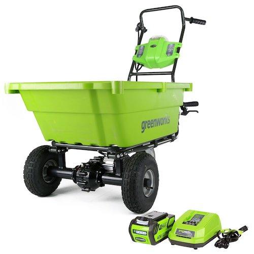 Greenworks 40V Cordless Garden Cart