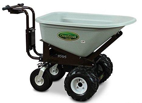 Overland Carts Heavy-Duty Powered Dump Cart