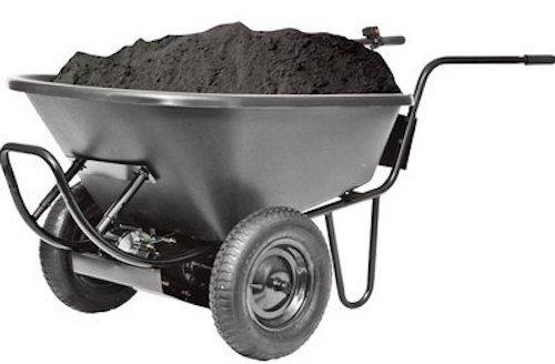 Power Assist Wheelbarrow