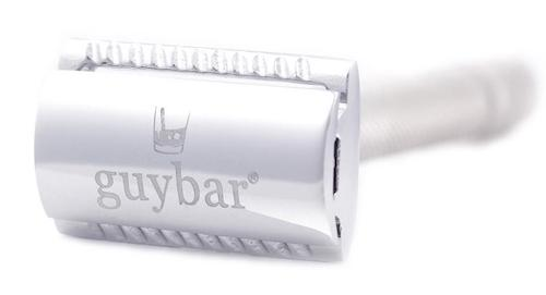 The Guybar Stainless Steel Double Edged Safety Razor