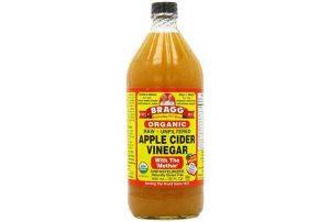 Organic Apple Cider Vinegar Bottle