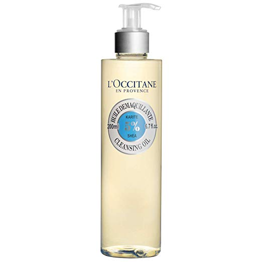 L'Occitane Shea Face Cleansing Oil with 5% Shea Oil to Remove Impurities or Make-up, 6.7 Fl Oz