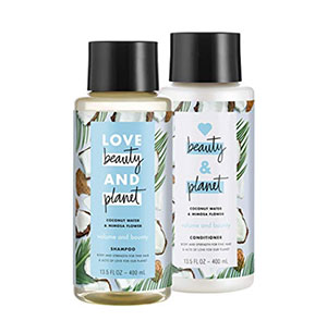 Love Beauty and Planet Volume and Bounty Shampoo