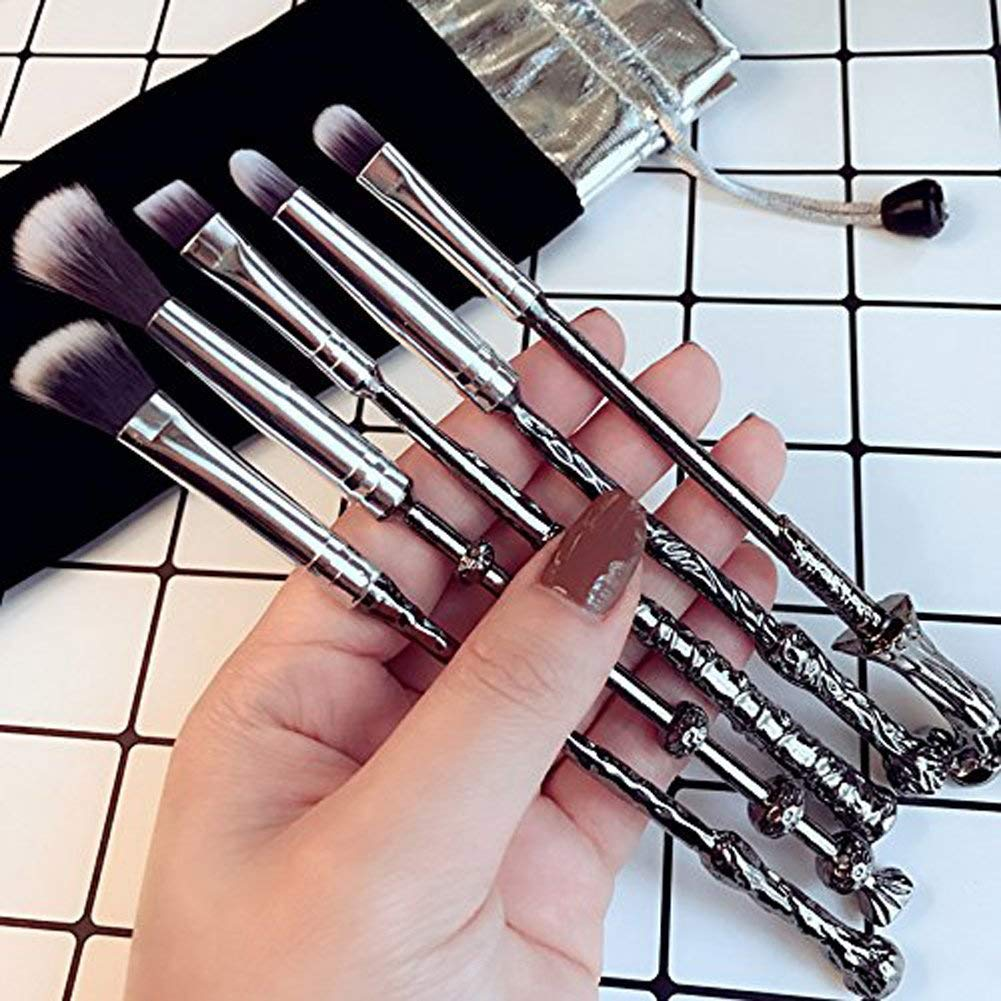Potter Makeup Brushes,Wechip Wizard Wand Brushes Women