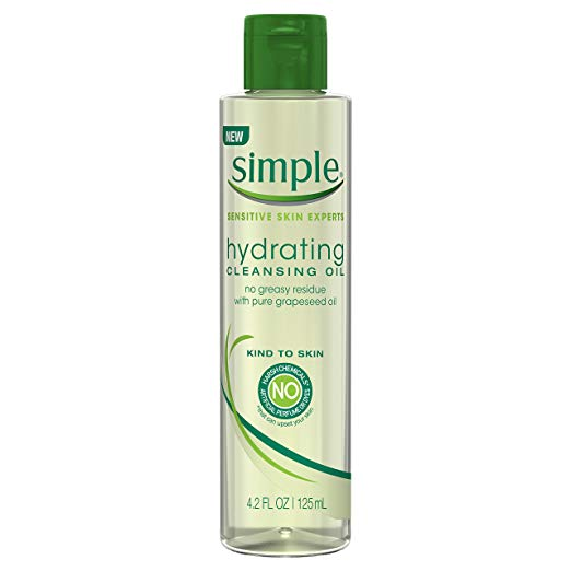 Simple Kind to Skin Cleansing Oil, Hydrating 4.2 oz