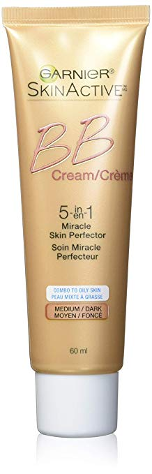 arnier SkinActive BB Cream Face Moisturizer