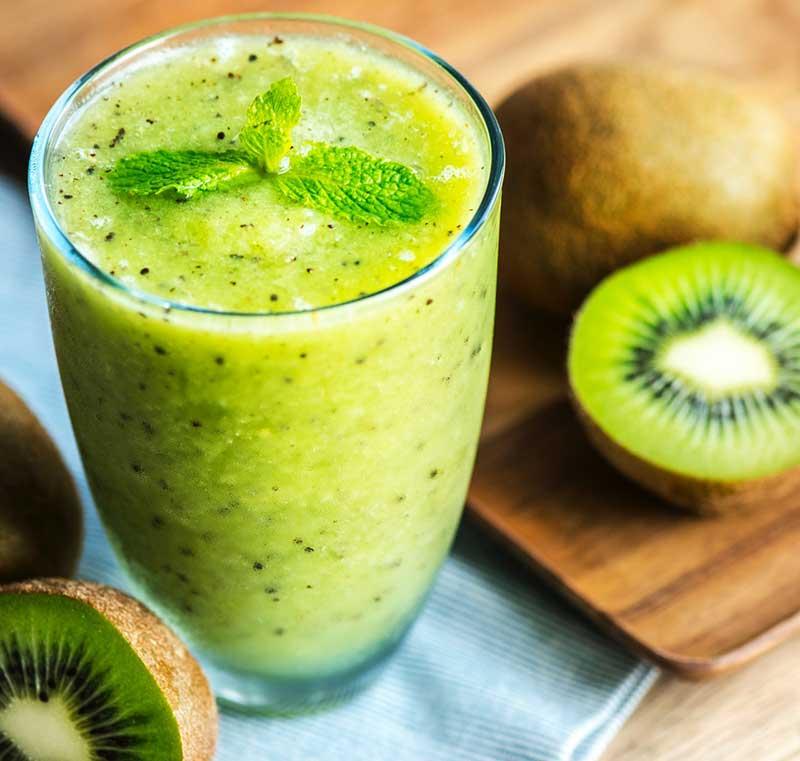 kiwi and juice
