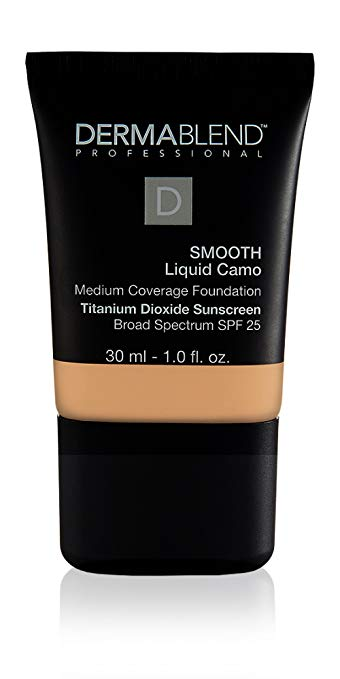 Dermablend Smooth Liquid Foundation with SPF 25, 1 Fl. Oz.