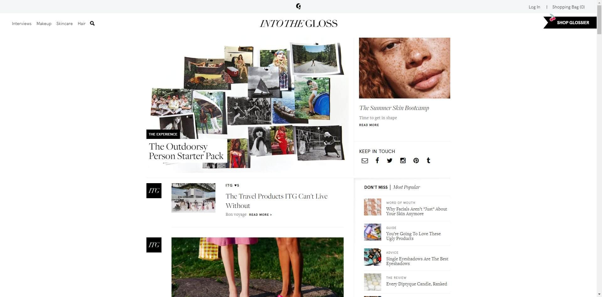 intothegloss best beauty blogs