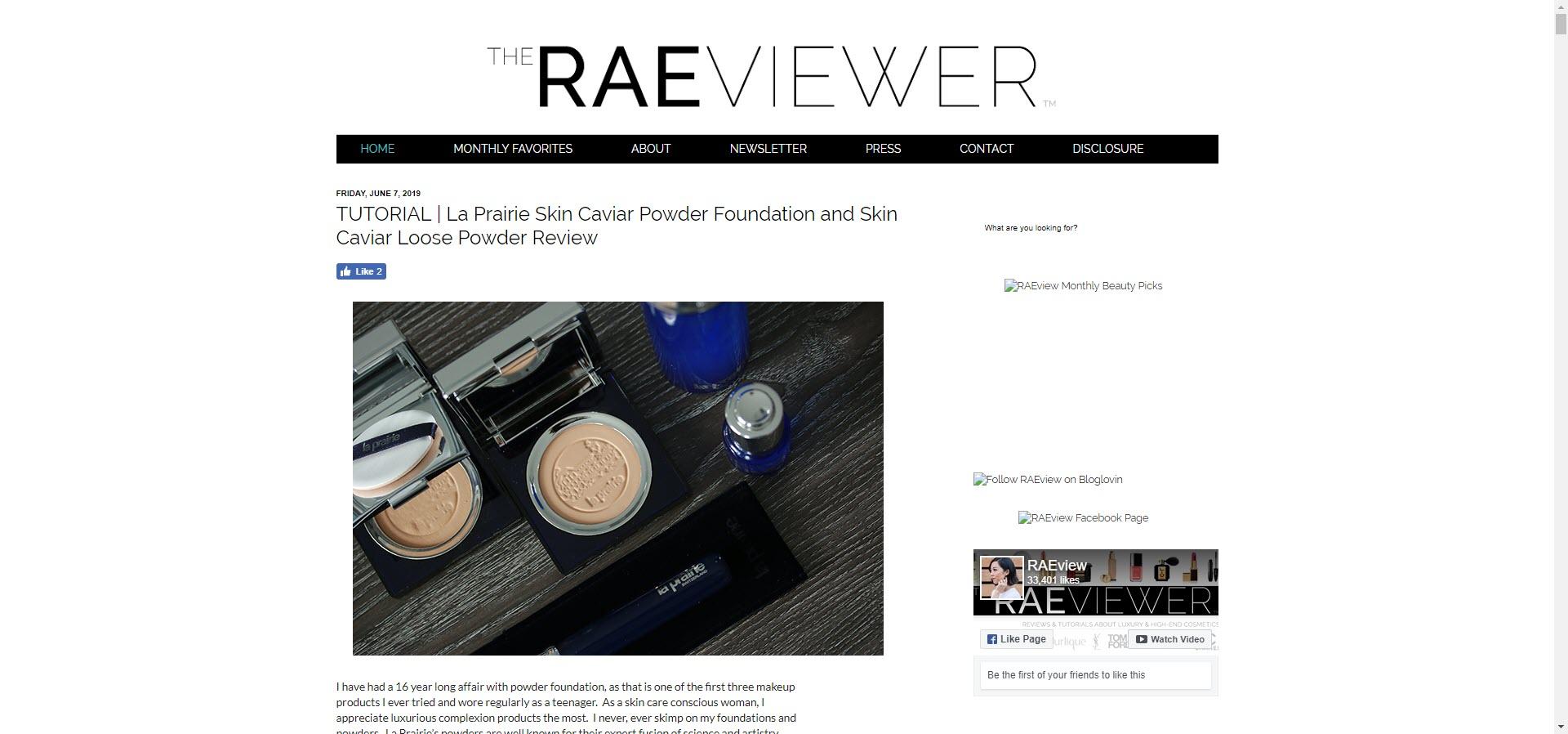 rae best beauty blogs