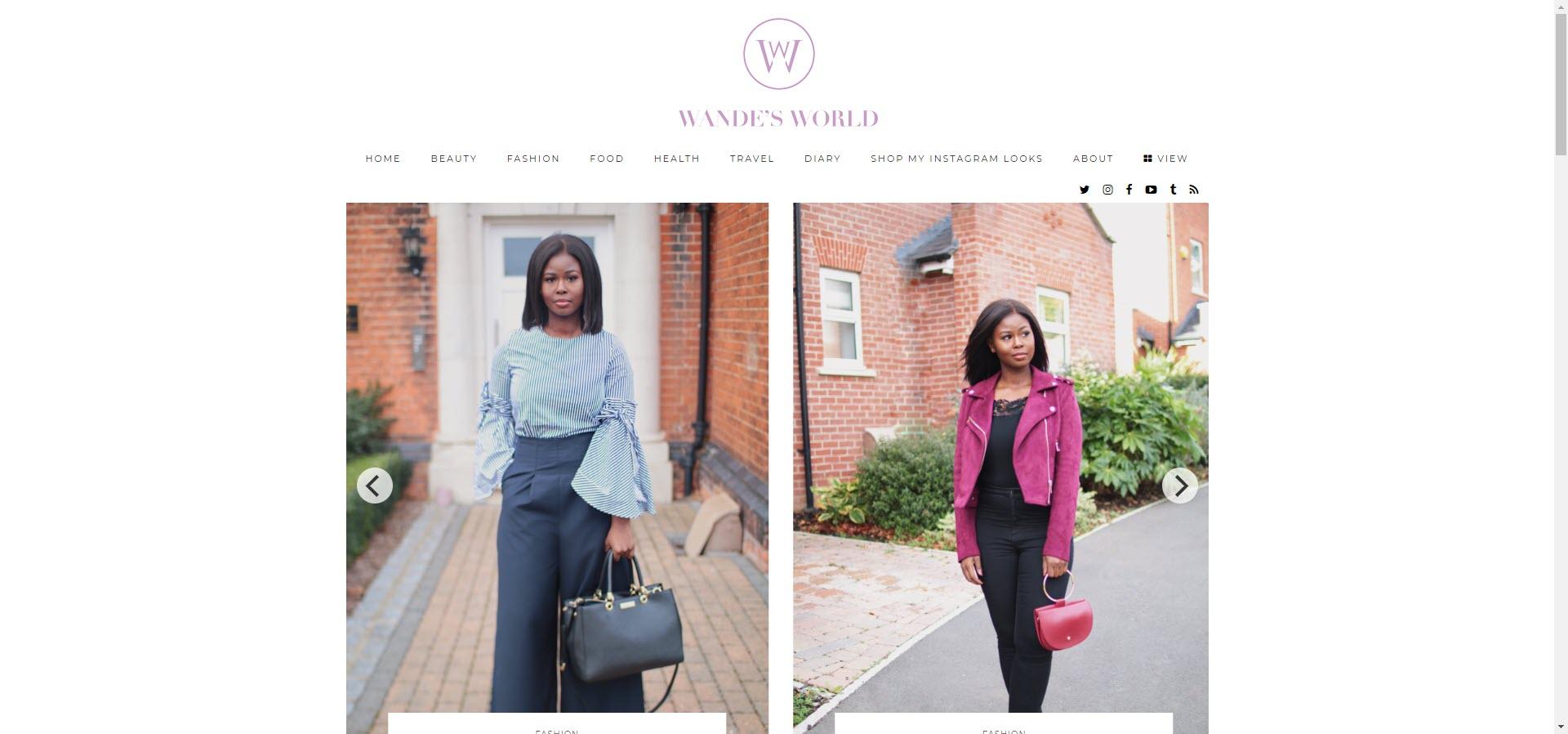 wandesworld best beauty blogs