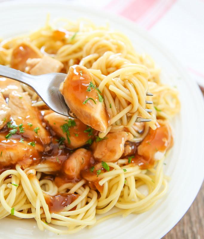 Orange Chicken Pasta