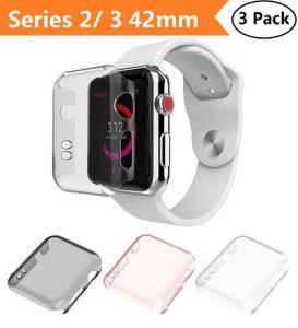Apple Watch Series 2 & Series 3 Case 42mm, Monoy New
