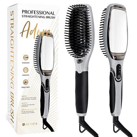 AsaVea Hair Straightener Brush 3.0