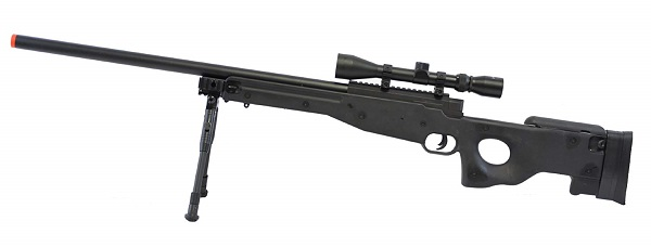 BBTac Airsoft Sniper Rifle BT-L96 Bolt Action Spring with Bipod