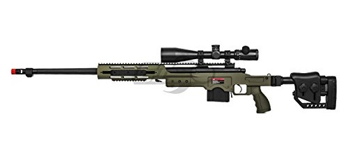 Well MB4411G Bolt Action Spring Sniper Rifle