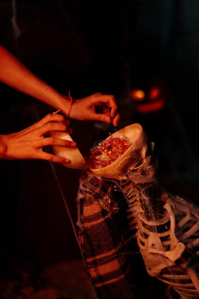 Candy in Skull