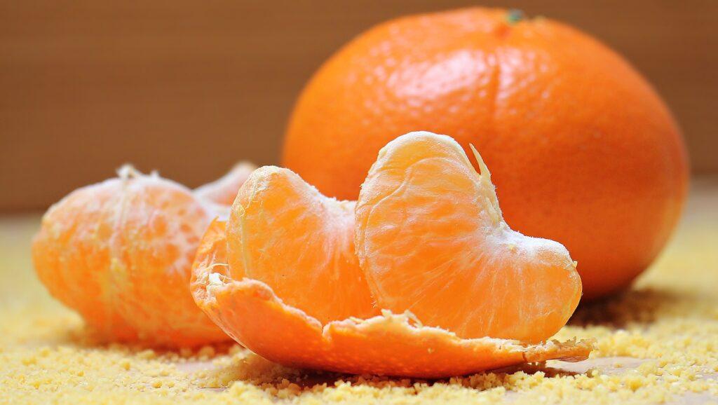 Oranges linke those used in viral TikTok cures